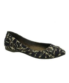Look at this #zulilyfind! Olive Camo Carley Flat - Women by Rocket Dog #zulilyfinds