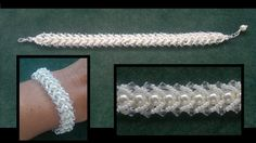 Best Seed Bead Jewelry 2017 : Flat spiral beading tutorial for begining beaders Jewelry Patterns, Bracelet Patterns, Beading Patterns, Seed Bead Jewelry, Beaded Jewelry, Beaded Bracelets, Jewellery, Pearl Bracelet, Seed Beads