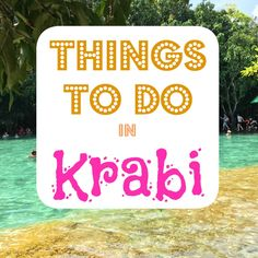 Krabi, Thailand. For most, it is a transit point on the way to Koh Lanta or the Phi Phi Islands, or worse, is totally bypassed, but Krabi has so much to offer travelers from cheap good quality accommodation to incredible food and nature options. Whether you make it a stopover or taking a couple...