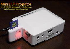 Mini DLP Projector #miniprojector #projector #DLP #bitcoin