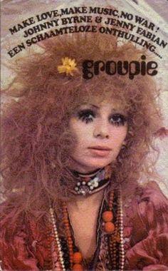 """Groupie"": a book written by Jenny Fabian. I really liked it."