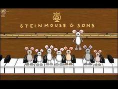 С Днем Рождения! Прикольные мышки играют на пианино Музыкальное поздравление Happy Birthday. - YouTube