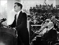 """Friday, January 20, 1961: John Fitzgerald Kennedy takes office as the 35th president of the United States. His inaugural speech is best remembered for its call to service: """"And so, my fellow Americans, ask not what your country can do for you; ask what you can do for your country. My fellow citizens of the world, ask not what America will do for you, but what together we can do for the freedom of man."""""""