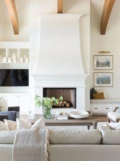 Home Interior, Living Room Interior, Home Living Room, Living Room Designs, Living Room Decor, Living Spaces, Interior Design, Country Interior, Interior Livingroom