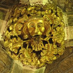 Green Man, Tewkesbury Abbey | Flickr - Photo Sharing! This is situated immediately behind the High Altar