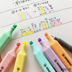 Japanese Handwriting, Cute Little Drawings, Kawaii Doodles, Art Diary, Class Notes, Filofax, Cute Wallpapers, Cool Designs, Banner