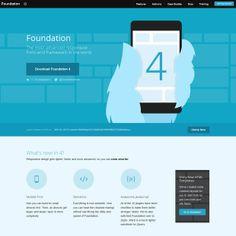 Web design inspiration / Flat design