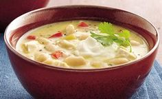 Canned cream soup gives spicy chicken and bean chili a lovely golden color as well as great flavor.