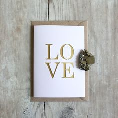 Papercut LOVE Greeting Card