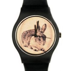 Watch now featured on Fab. Rabbit Watch, Just Deal With It, Gifts For Him, Women's Accessories, Bracelets, Bling, Fancy, Watches, Style Inspiration