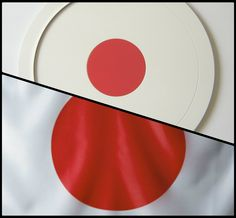 Wooden tray inspired by Japanese flag.