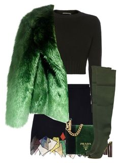 """Untitled #29"" by cinirateixeira ❤ liked on Polyvore featuring Alexander McQueen, Prada and adidas Originals"