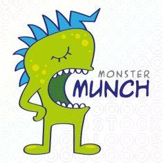 A Collection of 30 Monster Logos You Can Buy Marketing Logo 819d1e80cefb2