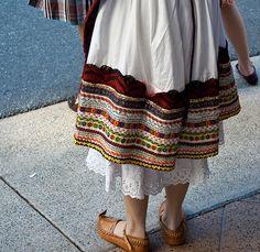 Serbian folk costume by eWah_photo, via Flickr