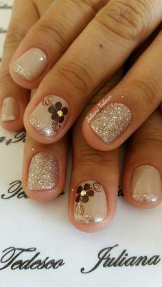 Shellac Nail Art, Nail Manicure, Acrylic Nails, Nude Nails, My Nails, Golden Nails, Thanksgiving Nails, Bright Nails, Toe Nail Designs