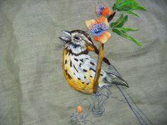 Peinture à l'aiguille réalisée par Marie - Blog de Catherine Laurencon