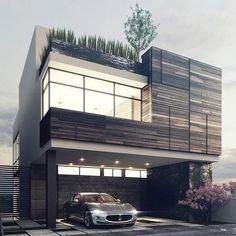 Contemporary Decor, Contemporary Houses, Modern Houses, Architecture Design,  Architecture Antique, Luxury Lifestyle, Design Homes, House Design, Building