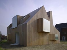 Innovative Creation of Modern House Design from Gable Roof Style - ArchInspire