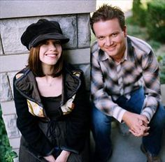 Keith and Kristyn Getty. Modern day hymn writers from Ireland. They write amazing & inspiring Christian songs and I love that their music all has a bit of an Irish influence.  =)