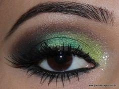 maquiagem-sombra-verde-