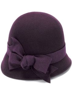 Just what every girl with a sharp bob needs for Winter. #millinery #cloche #judithm
