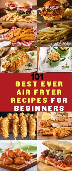 101 Air Fryer Recipes For Beginners. Featuring our top 101 easiest ever Air Fryer Recipes along with guides showing you exactly how to use your Air Fryer.