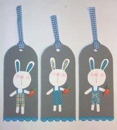 Tag con coniglietti