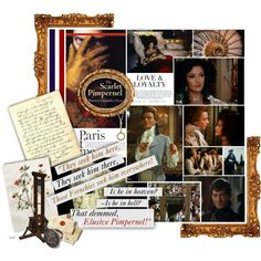 """""""The Scarlet Pimpernel, CLASSICS / BL Round 2.1"""" by of-simple-things on Polyvore"""