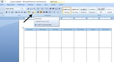 How to Create a Custom Calendar in Word - Calyx & Corolla Custom Calendar, Diy Calendar, Page Layout, Layout Design, Create A Calendar, Text Color, Time Management, Color Change, Texts