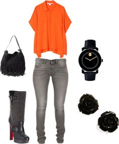 A Laid Back Day, created by als5774 on Polyvore