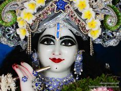 Sri Govinda Close up Wallpaper