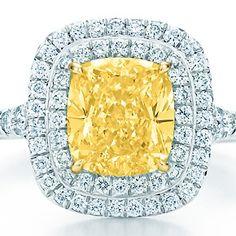 Tiffany Soleste yellow diamond ring... perfection ♥