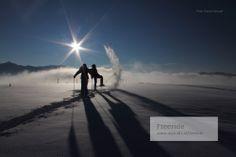 Freeride mit dem Berführer von Alpindis.at im Salzburgerland, Wildkogel, Zillertalarena, Nationalpark Hohe Tauern