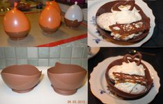 Chokladskålar / chocolate bowls