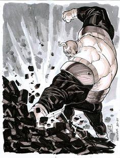 Strong Guy by Fpeniche on DeviantArt Marvel Dc, Marvel Comics, Strong Guy, Comic Art, Comic Books, Marvel Comic Character, X Men, Marvel Universe, Hulk