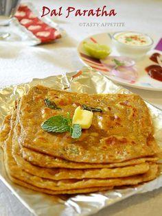Tasty Appetite: How to make Dal Paratha – Dal Paratha Recipe / Indian Paratha Recipes