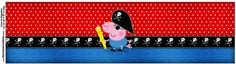 Copinho de Brigadeiro George Pig Pirata (Peppa Pig):