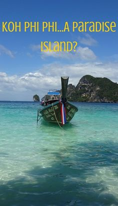Upon arrival to Koh Phi Phi, we were soon lost in the narrow pedestrian alley ways surrounded by cheap clothing, questionable souvenirs and dive shops. We fell in love with the island straight away.