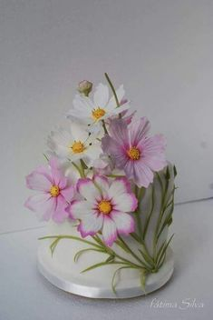 Flowers  cake decorating ideas