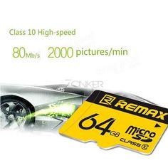 Remax micro SDHC Speicherkarte Class 10. HANDYZUBEHÖR | ZONKER