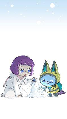 Anime Fnaf, Anime Kawaii, Manga Anime, Yo Kai Watch 2, Cute Games, Disney Xd, Supernatural, Chibi, Pokemon
