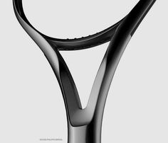 Details we like / Tennis Racet / Curves / Black / Smoth transition / at Le Manoosh : Photo: Id Design, Form Design, Detail Design, Dynamic Design, Modern Design, Id Digital, Le Manoosh, Design Language, Shape And Form