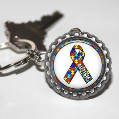 Check our latest product Bottle Cap Key Ch... available at our website http://nannygoatscloset.myshopify.com/products/autism-bottle-cap-key-chain-autistic-keychain-autism-awareness-awareness-causes-world-autism-day-world-autism-month?utm_campaign=social_autopilot&utm_source=pin&utm_medium=pin