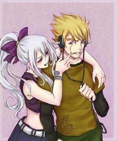 young Miraxus *-*  #fairytail #Miraxus #Mirajane #Laxus #cute #love #couple #young #teenager