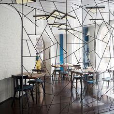 Peruvian restaurant LIMA opens second London venue | erratic screen wall
