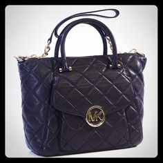NWT Michael Kors Quilted Fulton Large Satchel  - $380.00