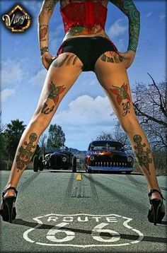 images of sexy females workin on cars | Girls and Hot Rods and Rat Rods! | Pin-up girls 'n Cars | Pinterest