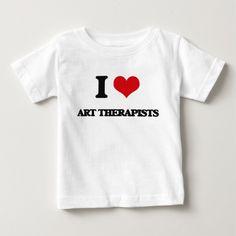 I love Art Therapists T Shirt, Hoodie Sweatshirt