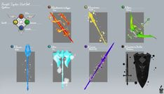 big moves (RWBY harem x male little brother reader) Anime Weapons, Fantasy Weapons, Armor Concept, Weapon Concept Art, Rwby Oc, Pawer Rangers, Wiccan Spell Book, Rwby Characters, Firearms