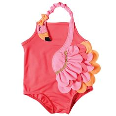 Flamingo Swimsuit by Mud Pie (12-18 months)